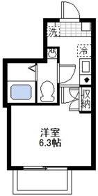 大倉山駅 徒歩8分3階Fの間取り画像