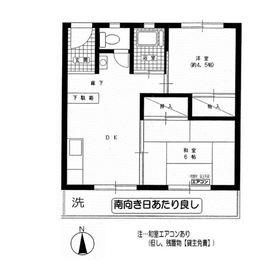ニューオギクボマンション3階Fの間取り画像