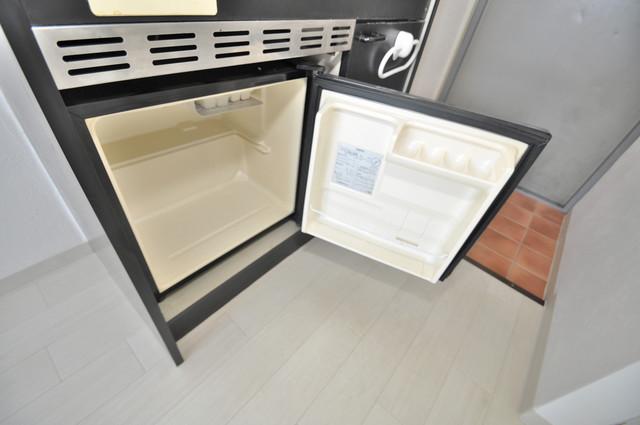 MINTIA北巽 ミニ冷蔵庫付いてます。単身の方には十分な大きさです。