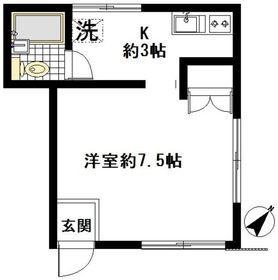 RSハウス1階Fの間取り画像