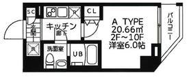 吉野町駅 徒歩3分3階Fの間取り画像