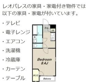 レオネクストFigaro1階Fの間取り画像