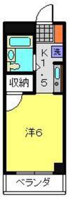 ヴェルドミール3階Fの間取り画像