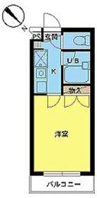 スカイコートよみうりランド第22階Fの間取り画像