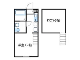 ヴィラナタル1階Fの間取り画像