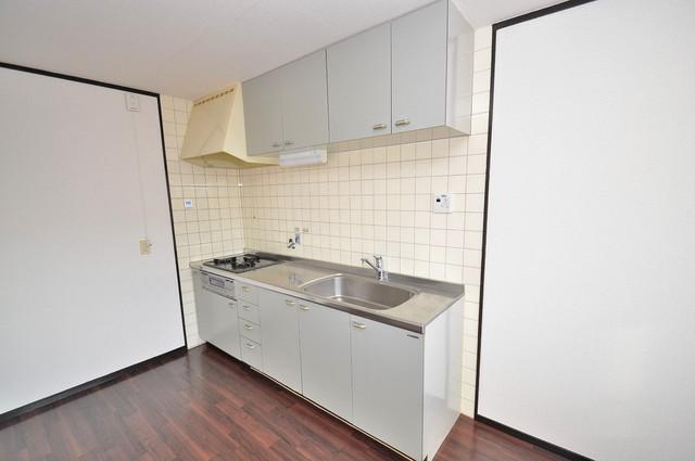 カメリア俊徳道 システムキッチンは広々と使えて、お料理が楽しくなります。