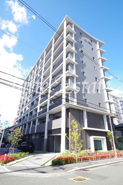 大阪市城東区中央3丁目の賃貸マンションの外観