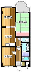 下赤塚駅 徒歩7分1階Fの間取り画像