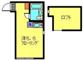 さくら新子安2階Fの間取り画像
