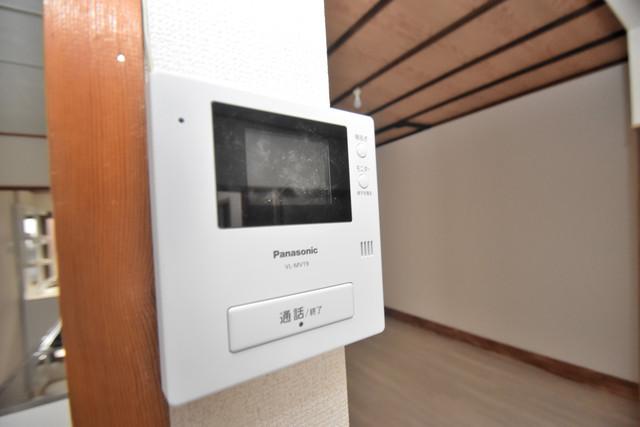 長堂2-16-8 貸家 TVモニターホンは必須ですね。扉は誰か確認してから開けて下さいね