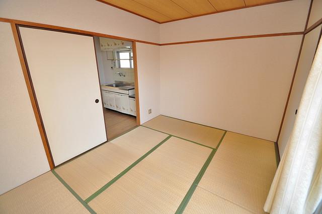 ファミーユ和喜 畳の心地よい香りがする、この空間で癒されてください。