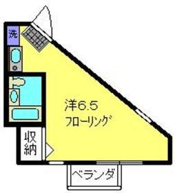 日吉本町駅 徒歩13分3階Fの間取り画像