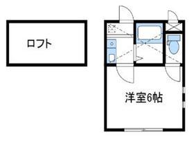 セレベール2階Fの間取り画像