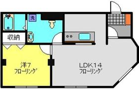 綱島駅 徒歩23分2階Fの間取り画像