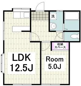 浦賀駅 徒歩13分1階Fの間取り画像