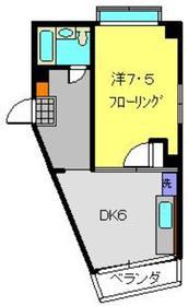 大倉山駅 徒歩1分3階Fの間取り画像