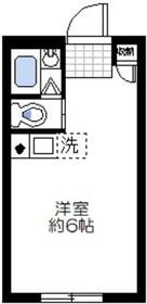 エムエフプラザ5階Fの間取り画像