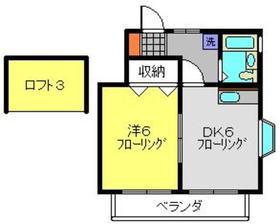 パークサイド2階Fの間取り画像