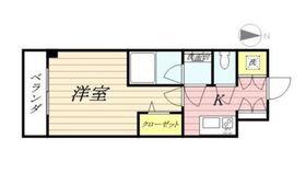 プレスタイル横濱SOUTH4階Fの間取り画像