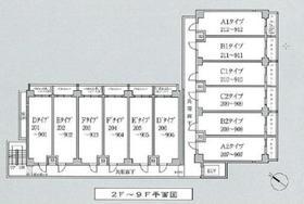 潮見駅 徒歩7分配置図
