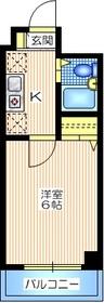コート・オダマキ3階Fの間取り画像