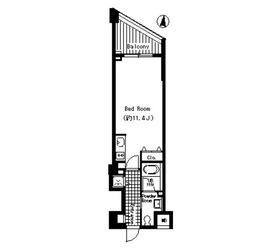 駒場東大前駅 徒歩13分4階Fの間取り画像