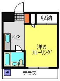 日吉本町駅 徒歩25分1階Fの間取り画像