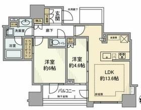 クラッシィハウス神田美土代町2階Fの間取り画像