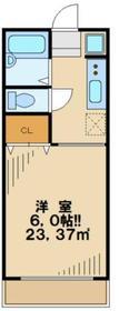 プリメーラ1階Fの間取り画像