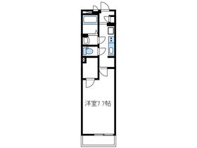クレイノヴィラージュⅡ3階Fの間取り画像