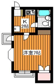 西高島平駅 徒歩13分3階Fの間取り画像