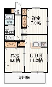 FM-深大寺1階Fの間取り画像
