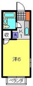 レオ新横浜C棟1階Fの間取り画像