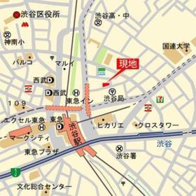 テラス渋谷美竹案内図