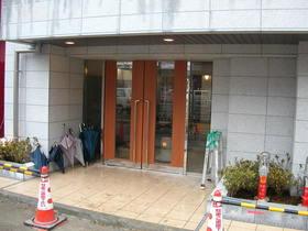 スカイコート品川仙台坂エントランス