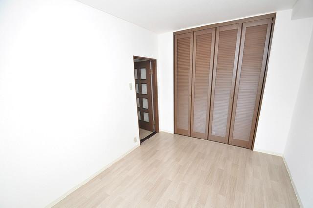 マンションサンパール もちろん収納スペースも確保。いたれりつくせりのお部屋です。
