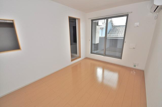 カーサルミエール 明るいお部屋は風通しも良く、心地よい気分になります。