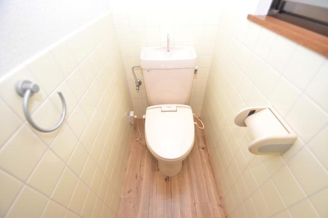 柏田東町2-37貸家 清潔感たっぷりのトイレです。入るとホッとする、そんな空間。