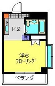 高田駅 徒歩6分4階Fの間取り画像