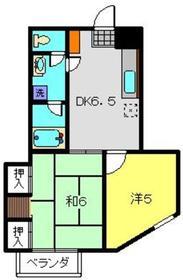 クレインヒル4階Fの間取り画像