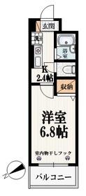 ノルテ神楽坂1階Fの間取り画像
