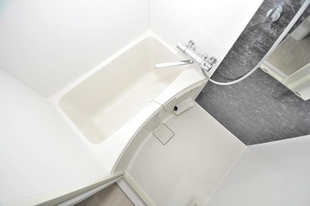 PARK HILLS 北巽 felice ちょうどいいサイズのお風呂です。お掃除も楽にできますよ。