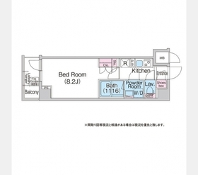 地下鉄成増駅 徒歩6分5階Fの間取り画像