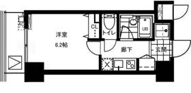レジディア文京本郷II6階Fの間取り画像