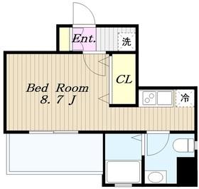 プリモ・レガーロ町田6階Fの間取り画像