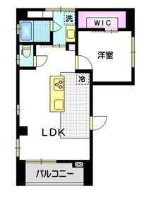 My広尾ビル6階Fの間取り画像