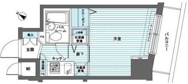 トーシンフェニックス日本橋蛎殻町弐番館間取図