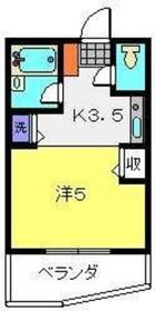 神奈川新町駅 徒歩6分2階Fの間取り画像