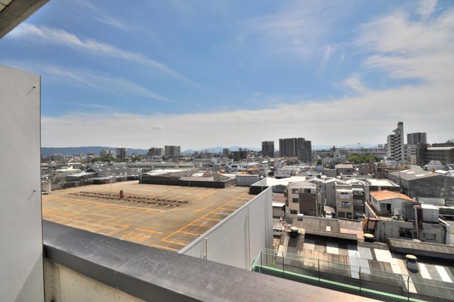 すみれプラザ長堂 7階の高さからの景色はすごく綺麗で気持ちが良いです。