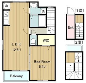 メロー・イエロー3階Fの間取り画像